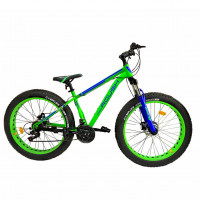 Велосипед 26 Fat bike Roush 26FMD250-2 синий матовый