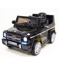 Электромобиль детский Mercedes-Benz G65 LS-528 12в р-у рез.к.кож.сид.че