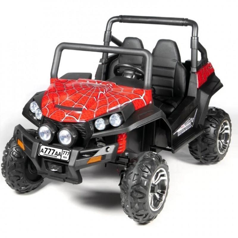 Электроквадроцикл детский 47076 (Р) красный спайдер