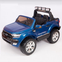 Электромобиль детский Ford Ranger F650 45435 (Р)  (Лицензионная модель) синий глянцевый
