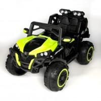 Электроквадроцикл детский 47069  (Р) с монитором mp4 полный привод зеленый