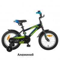 Велосипед 18  Новатрек LUMEN.BK9 чёрный алюминий  нож/т