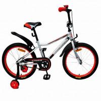 Велосипед 16  AVENGER SUPER STAR, серый/красный АКЦИЯ!!!