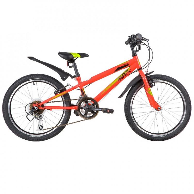 Велосипед 20 Novatrack SH12V.RACER.RD20 12ск красный