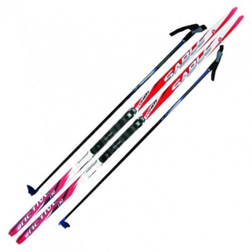 Лыжный комплект NNN креп STC 170см (4)+пал+кр