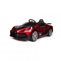 Электромобиль детский Bugatti DIVO HL338 51704 (Р)  (Лицензионная модель) красный глянец