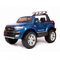 Электромобиль детский Ford Ranger F650 45439 (Р) с монитором, Полный привод,  (Лицензионная модель) синий глянцевый