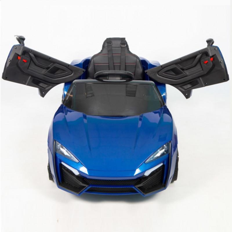 Электромобиль детский Lykan 45463 (Р) синий глянцевый