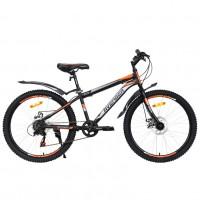 Велосипед 24 Avenger C240D-BK/ORN-13(21) 13