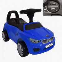 Каталка 45018  БМВ  мп3  синий