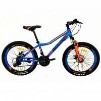 Велосипед 24 Roush 24MD240-1 синий матовый