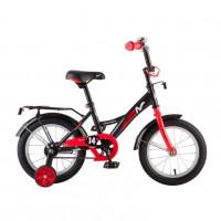 Велосипед 14 Novatrack Strike.BKR8  чер/крас. нож/т