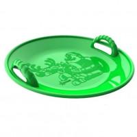 Ледянка  125/1  кругл. 58см  пластмас. зелён.