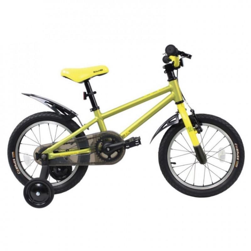 Велосипед 16  TT Gulliver зелёный (алюмин)