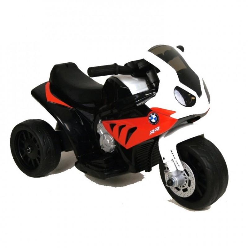 Электромотоцикл детский 43207 красный