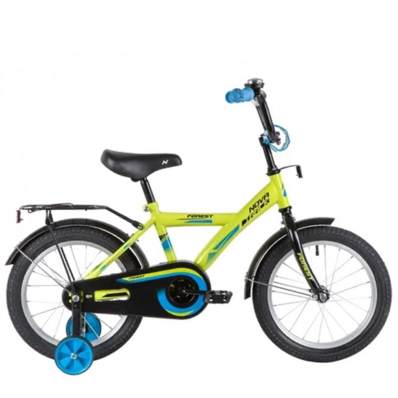 Велосипед 12 Novatrack Forest.GN21  зеленый