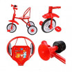 Детский 3-х колёсный велосипед 641330  Друзья 6 цветов (6)