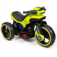Электромотоцикл детский Y- MAXI Police 49379 (Р) салатовый
