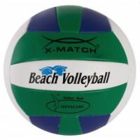 Мяч волейболный X-Match  56298  2 слоя ПВХ маш.,зел-с