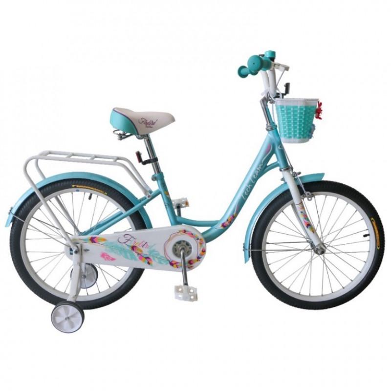 Велосипед 14 TechTeam Firebird цвет: морская волна