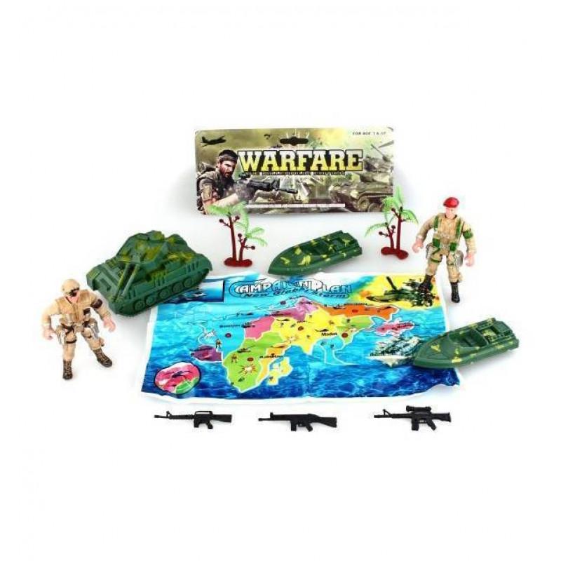 Набор военный Солдаты и техника, с аксессуарами  914-LH16  (30)