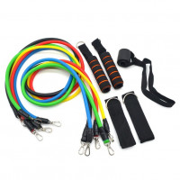 Тренажер  LT-011 Power Resistance Bands (11 предметов)