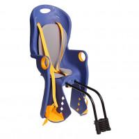 Кресло детское BQ-5A крепление на раму сзади, синее