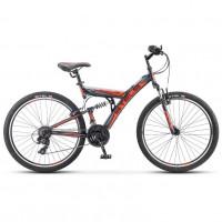 Велосипед 26  Stels Fokus V030  18ск. оранжевый/чёрный (2021)