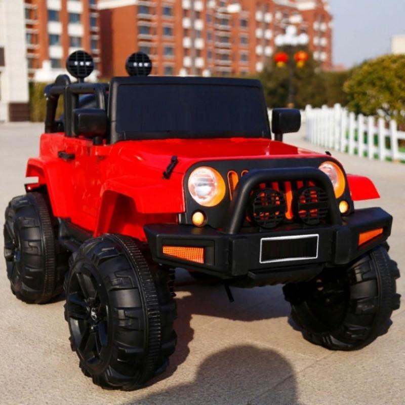 Электромобиль детский Jeep T333MP 50508 (Р) полный привод (4х4) красный