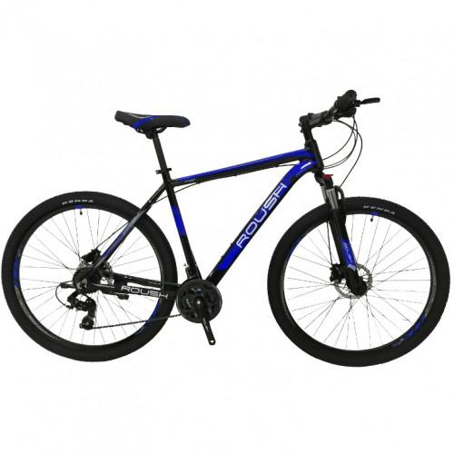 Горный велосипед Roush 29HD210 AL PRO-1 синий матовый (ГИДРАВЛИКА АЛЮМИНИЙ)