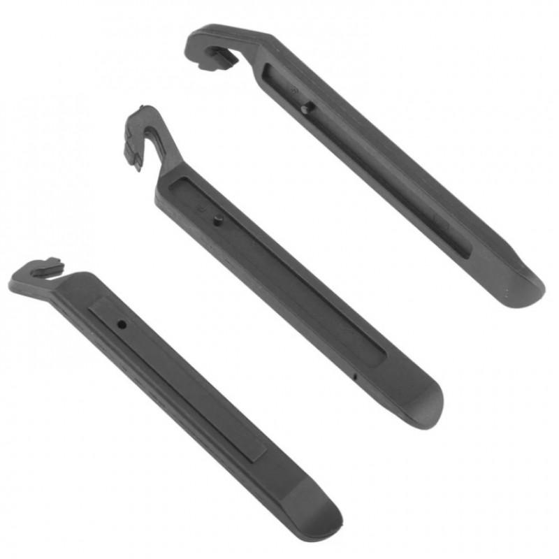 Монтажные лопатки, 3шт, нейлон,  черные KL-9720 1/200 KL-9720