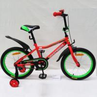 Велосипед 16  AVENGER SUPER STAR, красный/черный