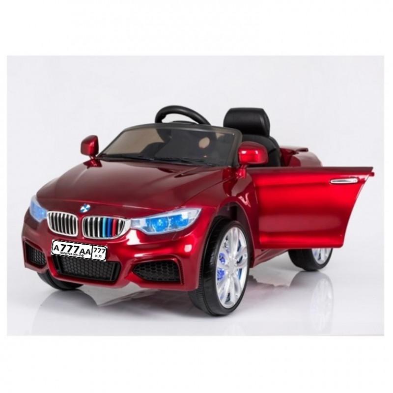 Электромобиль детский BMW X3 45542 (Р)  красный глянец