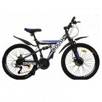 Велосипед 26 Roush 26MD100-1 синий матовый