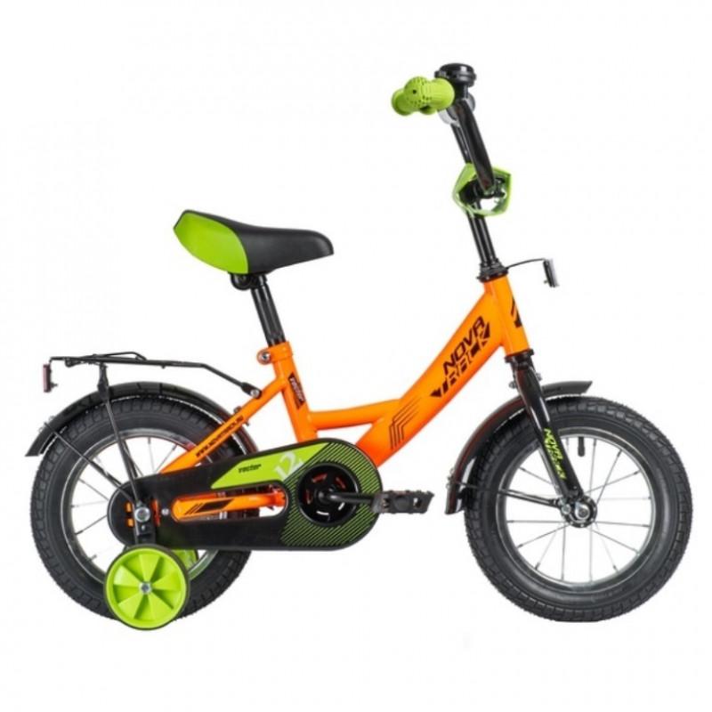 Велосипед 12 Novatrack 123VECTOR.OR20  оранжевый