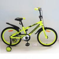 Велосипед 16 Nameless Sport, жёлтый/черный