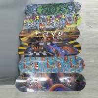 Скейтборд  деревянный JC-3108A