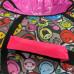 Тюбинг  CH-105-ГЛАМУР-Смайлы в розовом 2022,1/10 с мягкими ручками,с замком,со светоотражателями,цена с камерой д=105см new