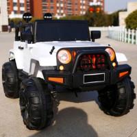Электромобиль детский Jeep T333MP 50507 (Р) полный привод (4х4) белый