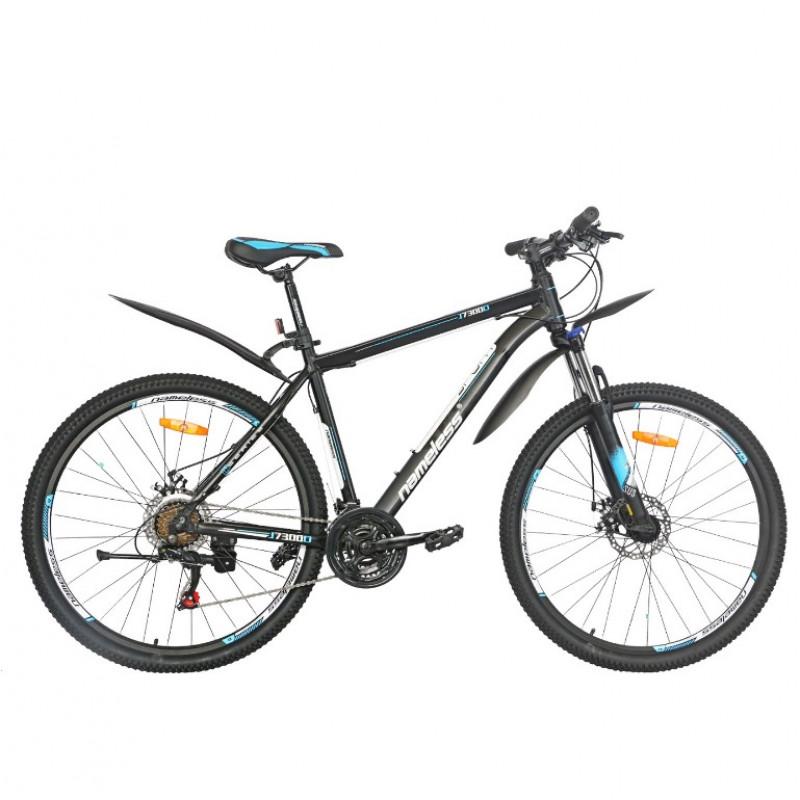 Велосипед 27,5 Nameless J7300D-BK/WT-19(21) чёрный/белый