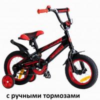 Велосипед 14 Nameless Sport чёрный/красный