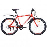 Велосипед 26 Avenger C260 красный неон/чёрный  19