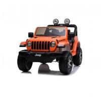 Электромобиль детский JEEP RUBICON DK-JWR555  51696 (P) полный привод , оранжевый глянец