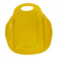 Ледянка  Метеор  ЛД33 51*46см  пластмас. жёлтый (10)