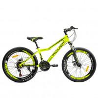 Велосипед 24 Roush 24MD240-4 жёлтый