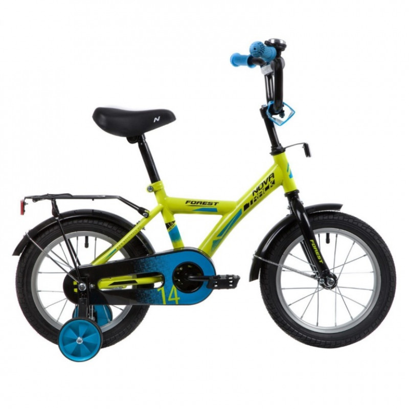 Велосипед 14 Novatrack Forest.GN20  зеленый
