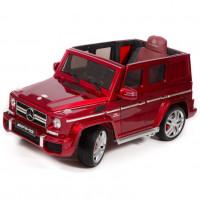 Электромобиль детский Mercedes-Benz G63 AMG 45472 (Р) вишневый, глянцевый