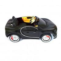 Электромобиль детский Bugatti Chiron HL318  51621 (Р) чёрный