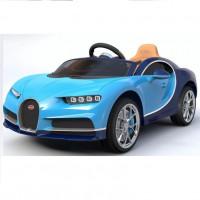 Электромобиль детский Bugatti Chiron HL318  50513 (Р) голубой с синем