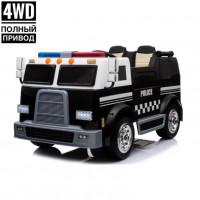 Детский электромобиль Police M008MP 50375 чёрный (Р)